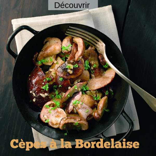 Cepes a la bordelaise