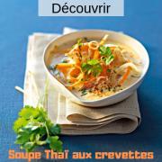 Soupe thai aux crevettes